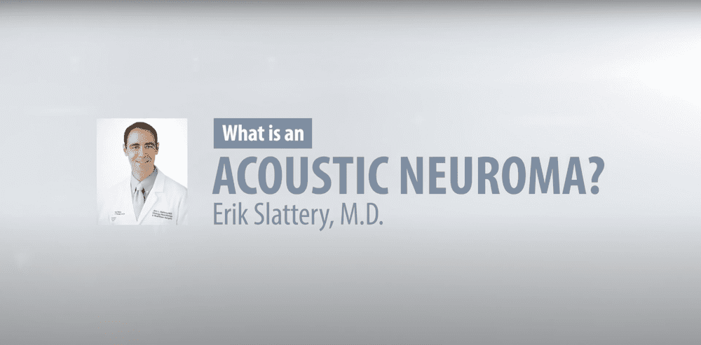 All About Acoustic Neuroma / Vestibular Schwannoma